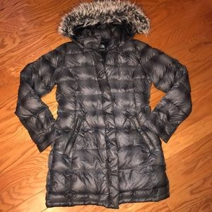 The north face women's winter coat size M